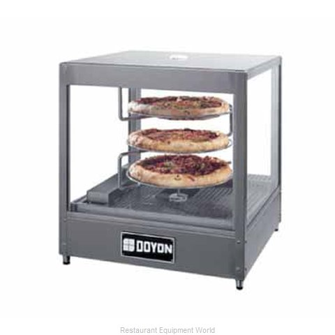 Doyon DRPR3 Food Warmer Display Case (Magnified)