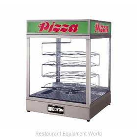 Doyon DRPR4 Display Case, Hot Food, Countertop