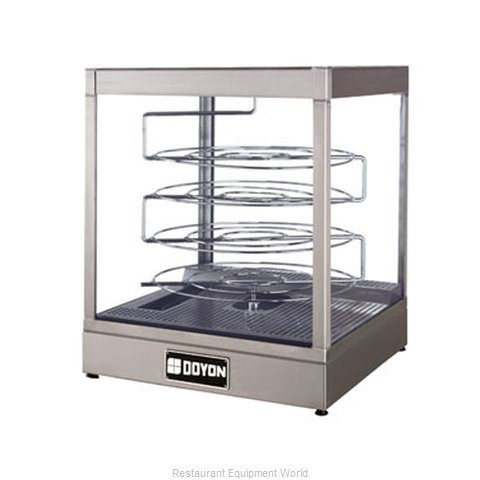 Doyon DRPR4S Display Case, Hot Food, Countertop