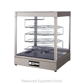Doyon DRPR4S Display Case, Hot Food, Countertop