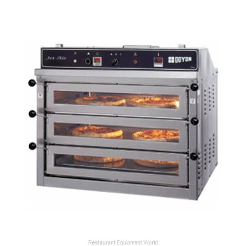 Doyon PIZ3 Countertop Pizza Oven (Magnified)