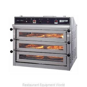 Doyon PIZ3 Pizza Oven, Deck-Type, Electric