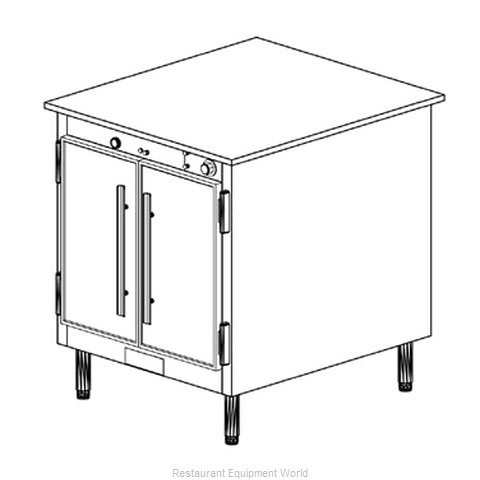 Duke 1151 Thermal Container Free Standing