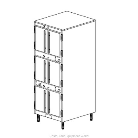 Duke 1253 Thermal Container Free Standing