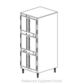 Duke 1253 Thermal Container, Free Standing