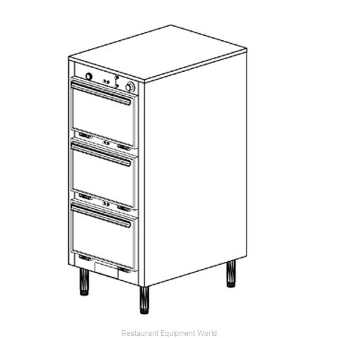 Duke 1303 Thermal Container, Free Standing