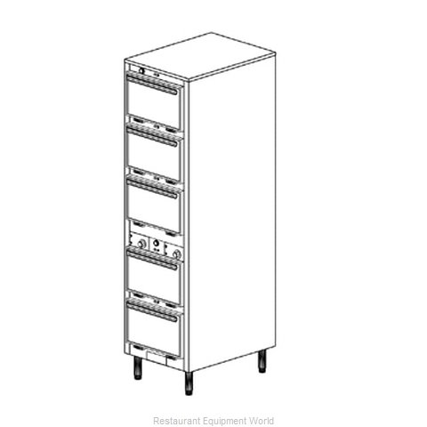 Duke 1305 Thermal Container Free Standing