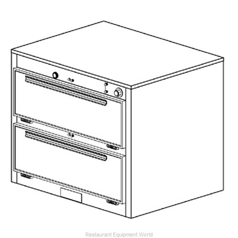 Duke 1352 Thermal Container Free Standing