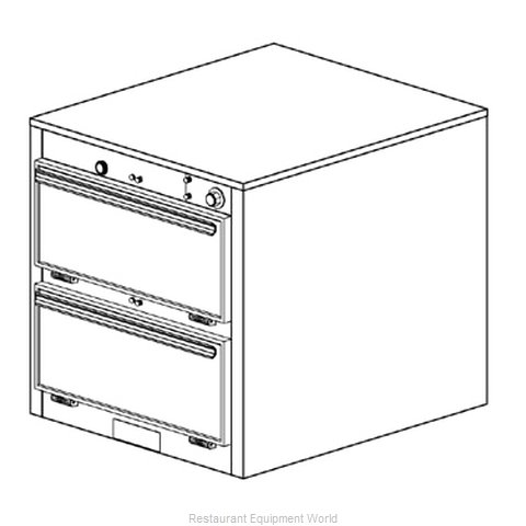 Duke 1452 Thermal Container, Free Standing