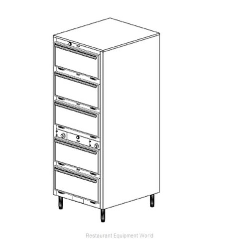 Duke 1455 Thermal Container, Free Standing