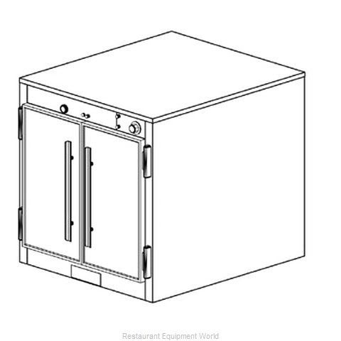 Duke 1551 Thermal Container, Free Standing