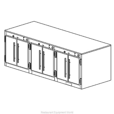 Duke 1553 Thermal Container, Free Standing