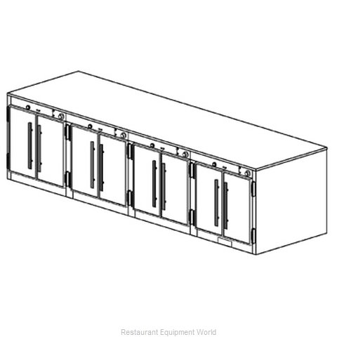 Duke 1554 Thermal Container Free Standing