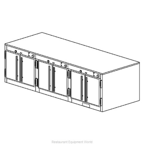 Duke 1573 Thermal Container, Free Standing