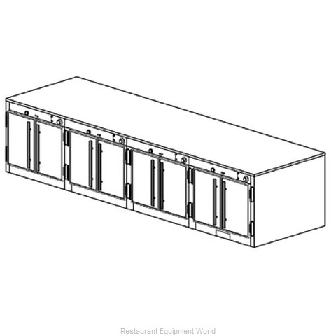 Duke 1574 Thermal Container Free Standing