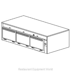 Duke 1603 Thermal Container, Free Standing