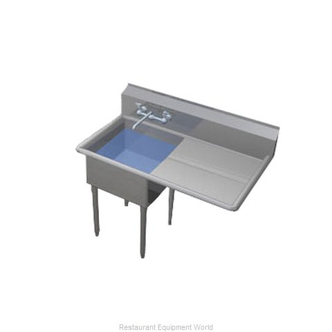 Duke 161-124-R Sink 1 One Compartment