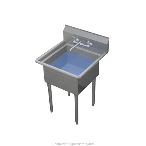 Duke 161S-NDB Sink, (1) One Compartment (Magnified)