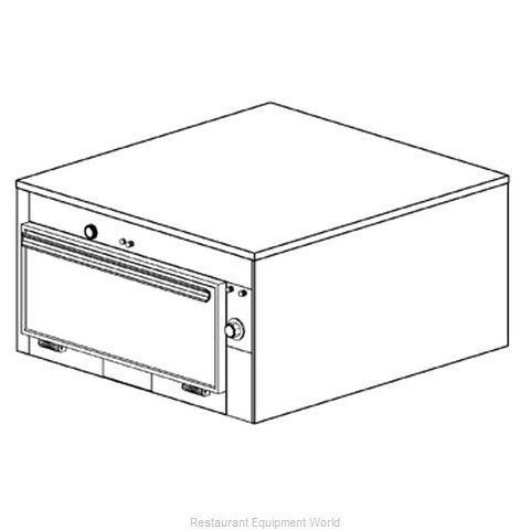 Duke 1651 Thermal Container, Free Standing