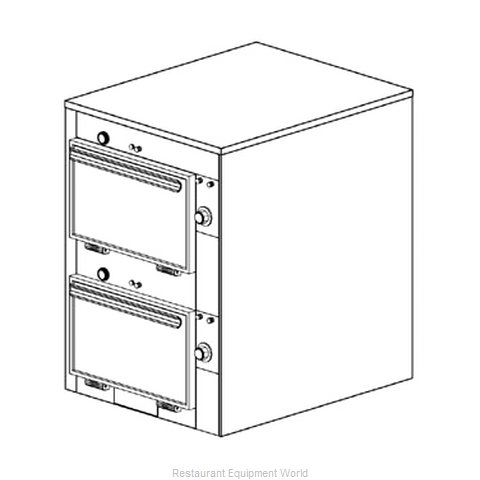 Duke 2302 Thermal Container Free Standing