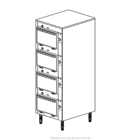Duke 2304 Thermal Container, Free Standing