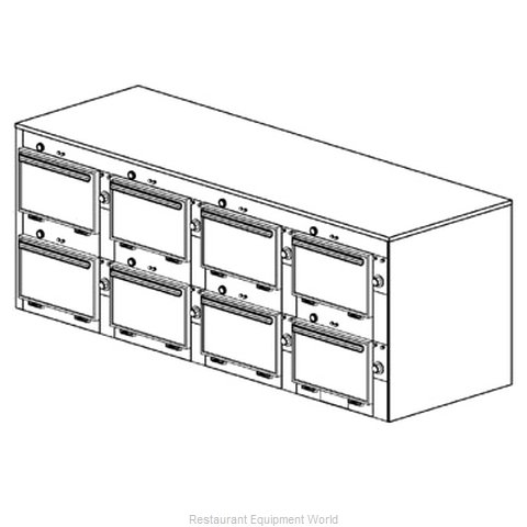 Duke 2318 Thermal Container, Free Standing