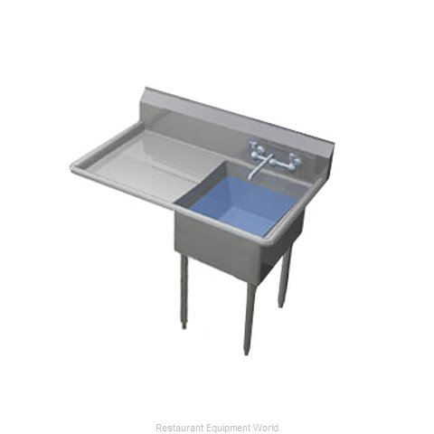 Duke 241-136-L Sink, (1) One Compartment (Magnified)