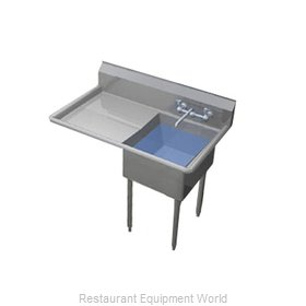 Duke 241S-124-L Sink, (1) One Compartment