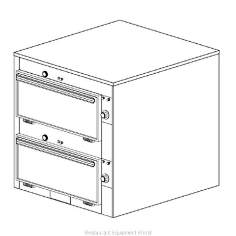 Duke 2452 Thermal Container, Free Standing
