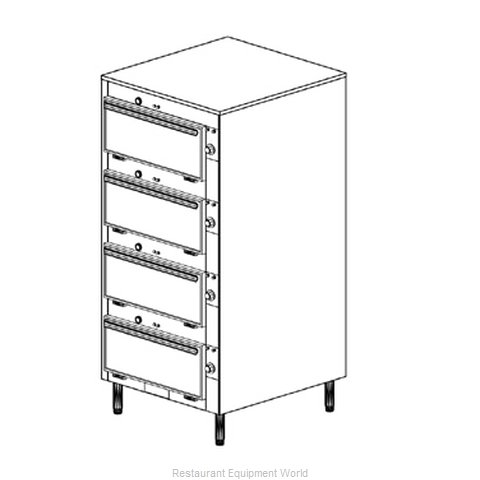 Duke 2454 Thermal Container, Free Standing