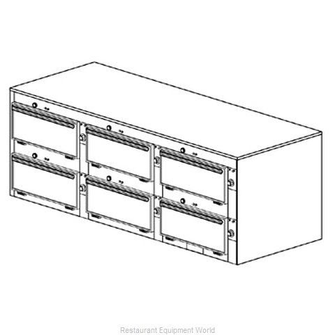 Duke 2466 Thermal Container Free Standing