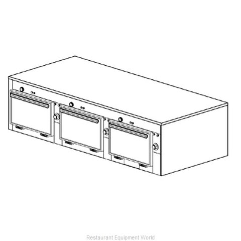 Duke 2603 Thermal Container, Free Standing