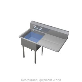 Duke 271-124-R Sink, (1) One Compartment