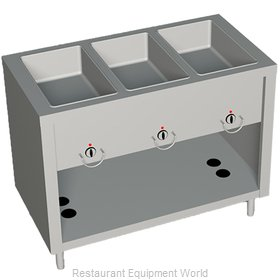Duke 303-25SS Serving Counter Hot Food Steam Table Gas