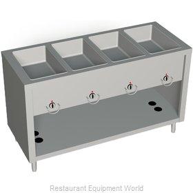 Duke 304-25SS Serving Counter, Hot Food, Gas
