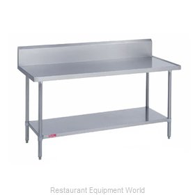 Duke 314-24132-10R Work Table 132 Long Stainless steel Top