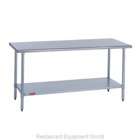 Duke 314-2472 Work Table 72 Long Stainless steel Top