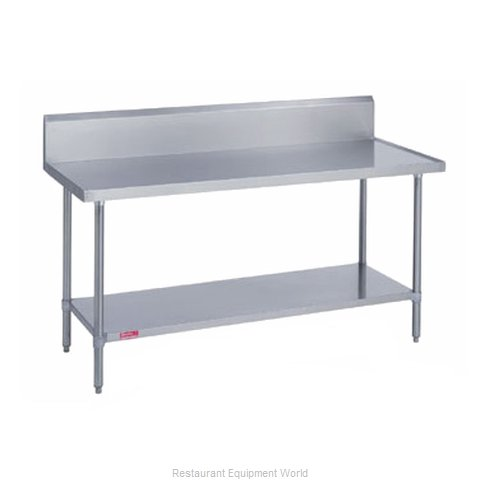 Duke 314-3648-10R Work Table 48 Long Stainless steel Top (Magnified)