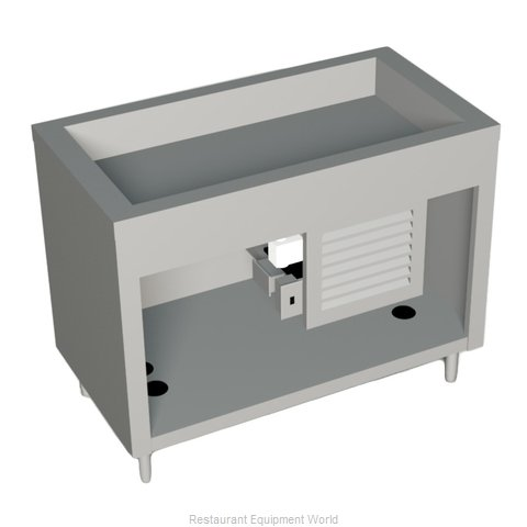 Duke 315-25PG Serving Counter, Cold Food