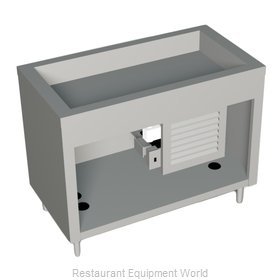 Duke 315-25PG Serving Counter Cold Pan Salad Buffet