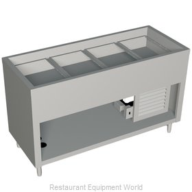 Duke 316-25PG-N7 Serving Counter Cold Pan Salad Buffet