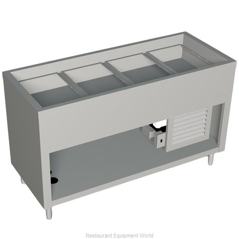 Duke 316-25SS-N7 Serving Counter Cold Pan Salad Buffet