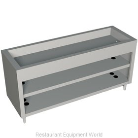 Duke 325-25PG Serving Counter Cold Pan Salad Buffet