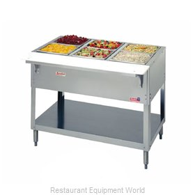Duke 325 Serving Counter Cold Pan Salad Buffet