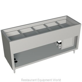 Duke 327-25PG-N7 Serving Counter Cold Pan Salad Buffet