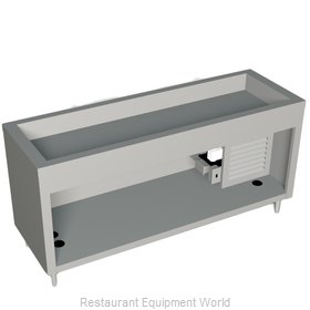 Duke 327-25PG Serving Counter Cold Pan Salad Buffet