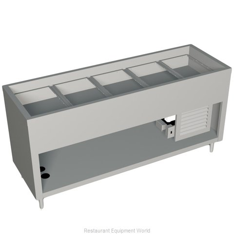 Duke 327-25SS-N7 Serving Counter Cold Pan Salad Buffet