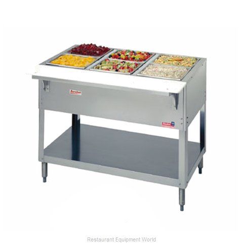 Duke 332 Serving Counter Cold Pan Salad Buffet