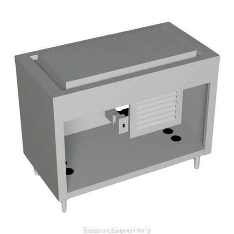 Duke 333-25SS Serving Counter, Frost Top