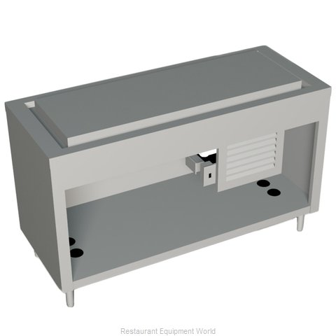 Duke 334-25SS Serving Counter Frost Top Buffet